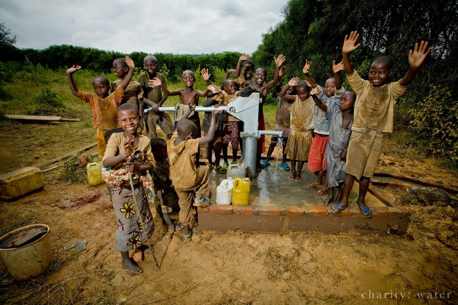 iGo Project: Campaña de Solidaridad lleva agua a las personas en Etiopía